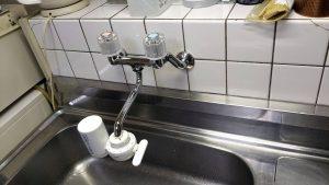 2ハンドル混合水栓(SANEI)