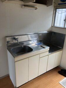 水しか出ない台所